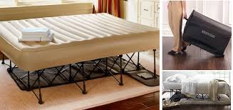 Inflatable Bed With Frame Best Ez Beds Home Design Decorating Pictures U0026 Ideas