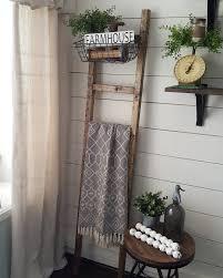 blanket ladder farmhouse decor farmhouse style decor