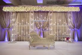 wedding backdrop setup indian wedding stage setup picture at bobak s signature events