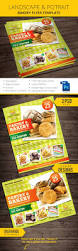 Bakery Price List Template Cake Flyer Graphics Designs Templates From Graphicriver