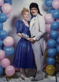 wooden photo album1980s prom photographs that probably didn t make it to the family album
