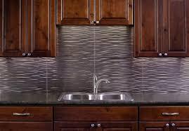 thermoplastic panels kitchen backsplash fasade backsplash panels reviews fasade waves in brushed nickel