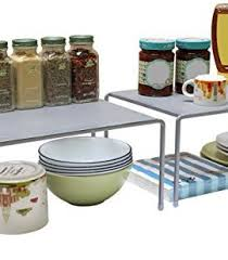 Kitchen Cabinet Door Storage by Simplehouseware Over The Cabinet Door Organizer Holder Silver