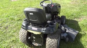 at auction craftsman dgs 6500 hydrostatic lawn mower with 26 hp