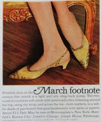 Shoo Vs 1950s shoe styles history and shopping guide