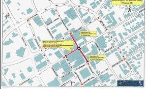 Washington Square Map by Road Closure Map For Washingon Street And Clinton Avenue In