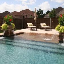 Backyard Pool Images by Best 25 Beach Entry Pool Ideas On Pinterest Zero Entry Pool