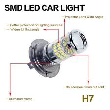 Led Light Bulbs Ebay by 48w H7 H4 H11 H8 Hb4 Xenon Smd Turbo Led Canbus Error Car Fog