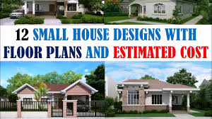 bungalow house design with floor plan in philippines youtube