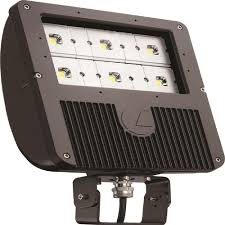 lithonia led flood light lithonia lighting 129 watt dark bronze outdoor integrated led flood