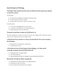 Graphic Designer Resume Objective Sample by Goal Setting For Ap Biology Wikispace