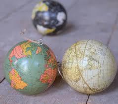 globe world hanging decoration by thelittleboysroom
