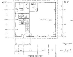 shop floor plans pole barn with living quarters plans sds complete apartment plan