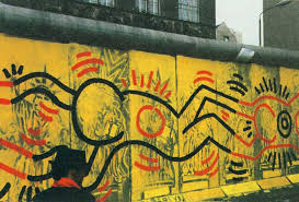 berlin wall sections lost art keith haring tate