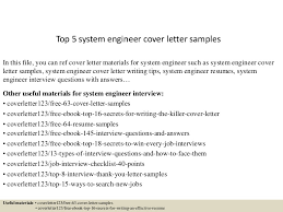 systems engineering resume systems engineer cover letters templates memberpro co