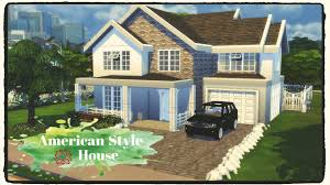 sims 4 american style house build u0026 decoration part 1 4 youtube