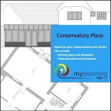 architectural drawings for your conservatory planning application
