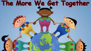 the more we get together kids songs children u0027s songs nursery