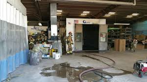 car paint booth catches fire local azdailysun com