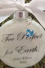 miscarriage memorial gift ornament for