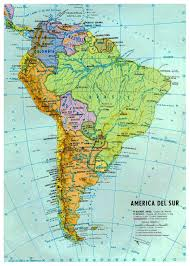 South America Physical Map Quiz by