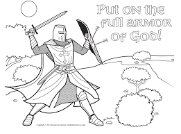 ephesians 6 coloring pages