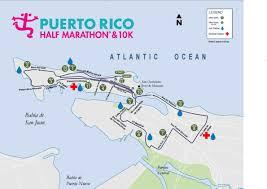 Puerto Rico On World Map by Puerto Rico Half Marathon World U0027s Marathons