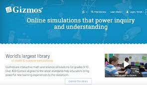 gizmos an online simulation tool chemical education xchange
