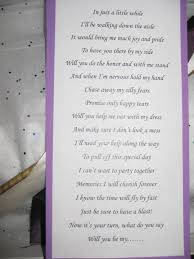 poems to ask bridesmaids of honor asking poems wedding tips and inspiration
