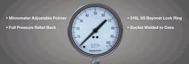 Jual Thermometer Wika ashcroft pressure and temperature instrumentation trust the shield