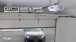 Syncing Garage Door Opener With Car by Atoms Garage Door Opener By Skylink Youtube
