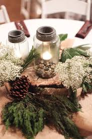 Centerpieces For Wedding Best 25 Wedding Log Centerpieces Ideas On Pinterest Table