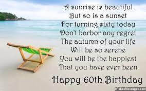 60 year birthday card poem for 60 year birthday 60th birthday wishes 4b 101 birthdays