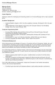 Career Objective Example For Resume by Resume Download Finance Resume Objective Loan Officer Resume
