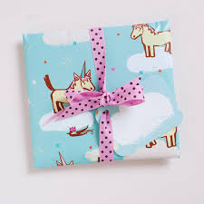 wrapping paper sheets unicorn party wrapping paper sheets by inkpaintpaper