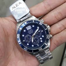 Jam Tangan Alba Pria jam tangan alba at3911x1 pria chorono steel silver blue