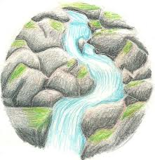 waterfall tattoo design by kagomeinusango on deviantart