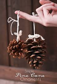 simple pine cone ornaments kleinworth co