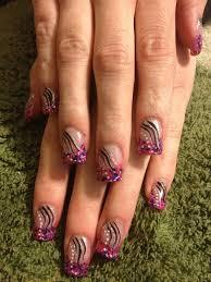 acrylic color nail design sara u0027s nail designs pinterest