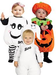 baby toddler halloween costume childrens kids ghost pumpkin fancy
