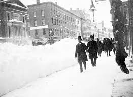 Worst Snowstorms In History Blizzard Of 1888 Disasters In The Valley