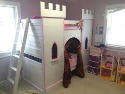 girls castle bed building a pretty princess castle bed your child will love bunk