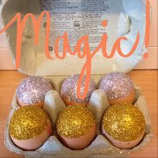glitter easter eggs pretty vacant