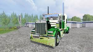 flat top kenworth trucks for sale kenworth w900l 2007 flattop for farming simulator 2015