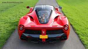 laferrari back fancy a laferrari let s see what your bank balance has to say