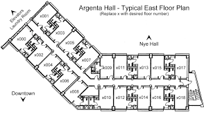 Design A Room Floor Plan by Argenta Hall Housing University Of Nevada Reno