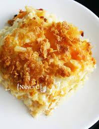 cap cuisine nancy cheesy hash brown potatoes nancyc