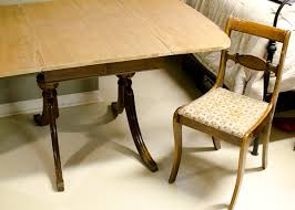 Chalk Paint Table And Chairs Duncan Phyfe Table U0026 Chairs The Golden Sycamore