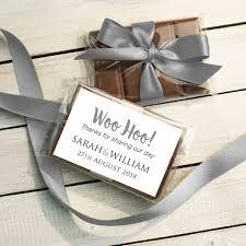 wedding chocolates mini chocolate bar wedding favour by gift library