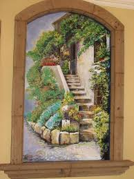 mural on wood interior painting faux finishes murals mural photo album by